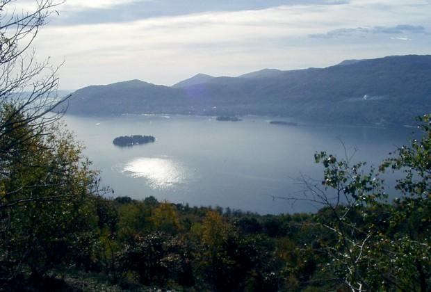 Vista panoramica sul golfo Borromeo