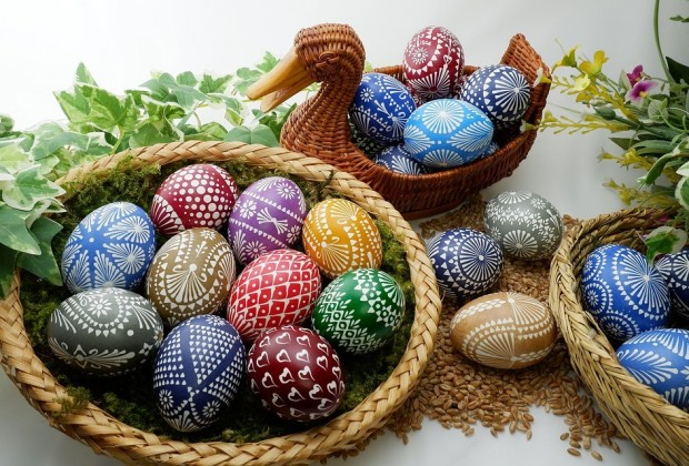 The MENU OF HOLIDAYS' EASTER